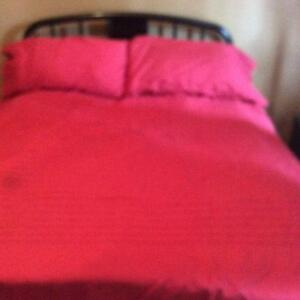 IKEA queen/double duvet cover and pillowcase Stratford Kitchener Area image 2
