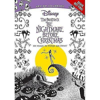 Art Of Coloring  Tim Burtons The Nightmare Before Christmas  100 Images To
