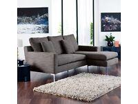 Dwell corner sofa and armchair