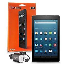 New kindle HD fire with Alexa