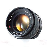 Zeiss c/y mount 50 1.4 legacy lens