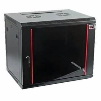 "19"" x 9RU x 450mm deep server cabinet"
