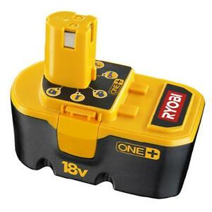 Looking for Ryobi 18v one plus NiCad battery