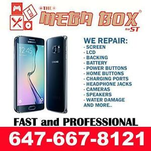 [ Open 7 Days a Week ] SAMSUNG GALAXY S8/S7/S6/EDGE/PLUS+,S5/NEO/ACTIVE,S4,S3,NOTE , GRAND PRIME CRACKED SCREEN REPAIR !