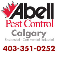 Guaranteed Pest Control Services for Calgary/403-351-0252