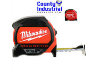 MILWAUKEE 8M/26FT TAPE MEASURE WITH FREE 3M TAPE MEASURE 48227703