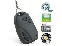 HD Spy Digital Remote Video Camera Fob Keyring Camcorder Mini DVR Cam
