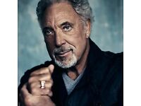 x2 TOM JONES concert tickets - Wednesday 4th July