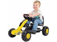 Redline Racers Kids Ride On Go Kart Childrens Off Road Buggy Outdoor Pedal Car - 47419