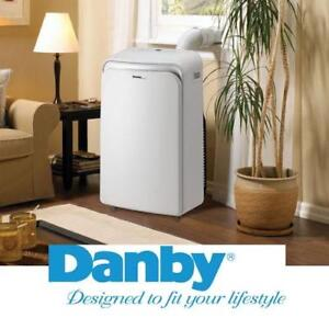 NEW DANBY AIR CONDITIONER - 77248731 - PORTABLE - HEATING COOLING, FAN AND DEHUMIDIFY MODES - 14000 BTU - REMOTE