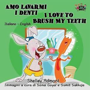 Image Is Loading Amo Lavarmi I Denti Love To Brush