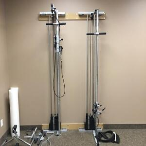 Bilateral Wall Pulley System