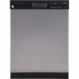 Lave-vaisselle à cuve haute GE 24'', Stainless