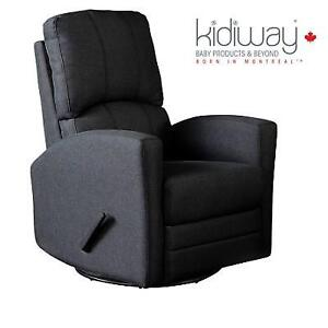 NEW KIDIWAY VARADERO SWIVEL GLIDER 4221 209785803 CHARCOAL GREY