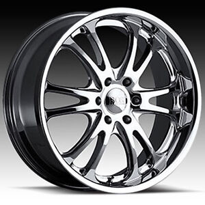 ROUES (MAGS) BOSS 313 CHROME 22X9.5 6-135