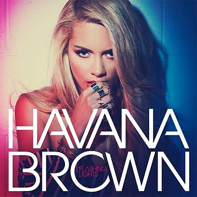 Havana Brown - Flashing Lights - CD Album Damaged Case