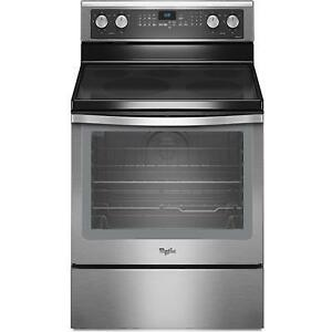 Cuisinière 30'', Convection, Stainless, Whirlpool, Showroom