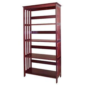 "60"" Etagere Bookcase by ORE Furniture NEW"