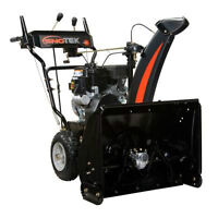 Sno-Tek 24 Inch Two-Stage Electric Start Gas Snow Blower