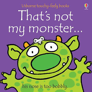 Thats-Not-My-Monster-Usborne-Touchy-Feely-Books-GOOD-Book