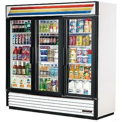 3 Glass Door Refrigerator Ebay
