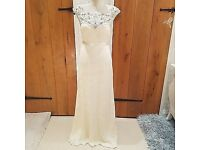 Delaney bridal dress from monsoon size 14