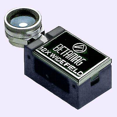 Betamag 12x Handheld Magnifier