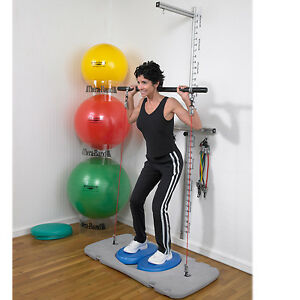 Theraband rehab and wellness station, incl exercise balls (NEW)