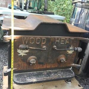 Large Wood Stove c/w 21' of Stainless Dbl Pipe & Misc Bits Kingston Kingston Area image 2