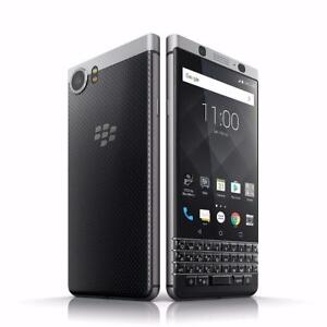 "Brand New BlackBerry KEYone 32GB BBB100-1 - 4.7"" inch QWERTY Factory Unlocked Silver"