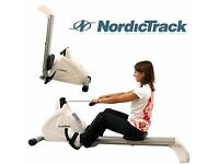 NordicTrack RX1000 rowing machine £90 ONO buyer collects User Weight 115 kg Dimns WxLxH 90x51x137cm
