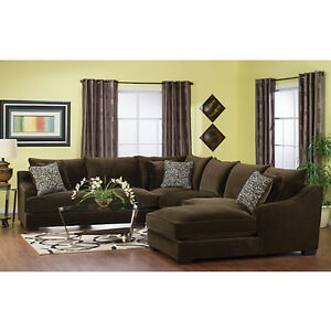 Allure 4-Piece Sectional w/Right-Facing Chaise