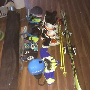 Ski and Snowboard Set up
