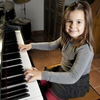 Piano, Voice, Guitar, Violin and Drums Lessons