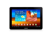 Samsung galaxt tab 10.1 inch 64gb black wifi used.
