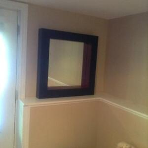 Reduced in price! Modern, large stylish mirror