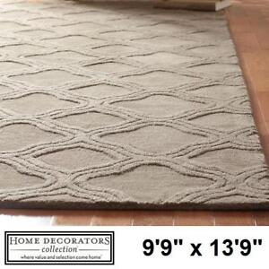 """NEW* MOROCCO 9'9"""" x 13'9"""" AREA RUG - 129856686 - HOME DECORATORS TAUPE RUGS CARPET CARPETS FLOORING DECOR ACCENTS MAT..."""