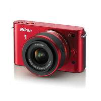 Nikon J1 w/1 Nikkor VR 10-30mm f3.5-5.6 kit new full warranty
