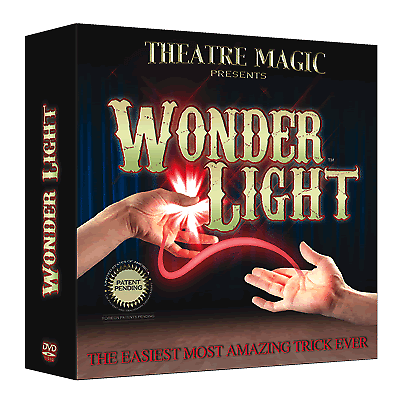Wonder Light (DVD and Gimmick) by Theatre Magic Magic Trick