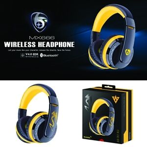 Bluetooth V4.0 Stereo Headphones with Microphone