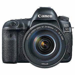 Cam Canon EOS 5D Mark IV Full Frame Digital SLR Camera