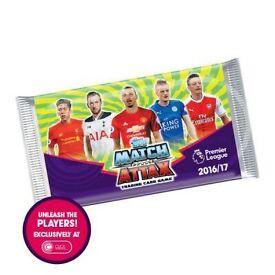 Match attax cards x 50 packs