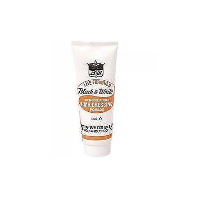 Black & White Genuine Pluko Hair Dressing Pomade 100ml - Lite