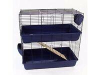 Indoor two tier cage