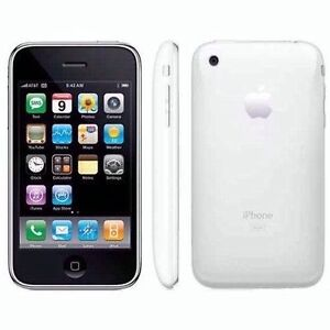 New iPhone 3GS 32GB White Smartphone Factory Unlocked GSM (AT&T) MB718LL/A A1303
