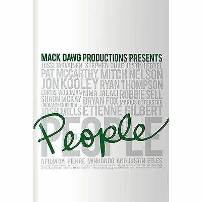Mack Dawg Productions 'People' Snowboarding DVD