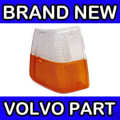 Volvo 240, 260 (81-93) Front Indicator Light / Lens / Lamp (Right Drivers Side)