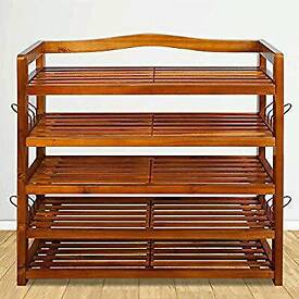 Real wood shoe rack - BRAND NEW IN BOX