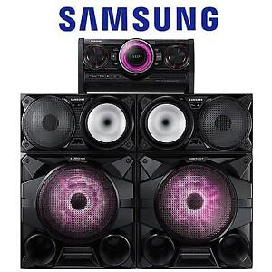 REFURB SAMSUNG GIGA SOUND SYSTEM MX-HS7000 126818334 2300W 12'' SUBWOOFERS BLUETOOTH AUDIO HOME THEATRE