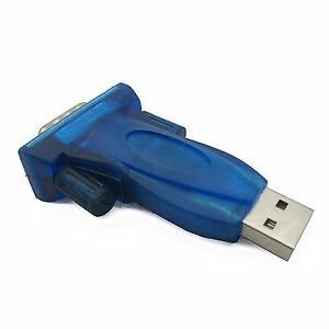 For Sell USB 2.0 to 9-pin RS232 COM Port Serial Convert Adapter